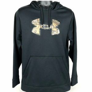 Men's Under Armour Pullover Hoodie Small Camo